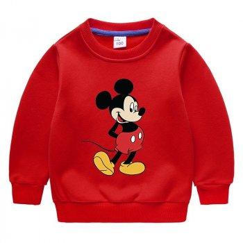 Свитшот Mickey Pingvik 8270 цвет- красный