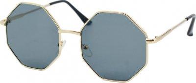 Солнцезащитные очки женские SumWin YU9715-01 Золотистые