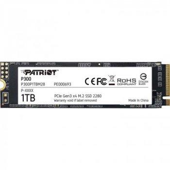 Накопичувач SSD M. 2 2280 1TB Patriot (P300P1TBM28)