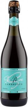 Вино игристое San Mare Lambrusco dell'Emilia Rosso красное полусладкое 0.75 л 8% (8008820160692)