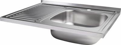 Кухонна мийка Lidz 6080-R Decor 0.8 мм (LIDZ6080RDEC08)