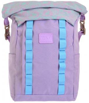 Рюкзак міський Yes Roll-top T-61 Viola для дівчаток 0.5 кг 29х42х15 см 18 л (557194)