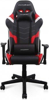 Крісло DXRacer P Series PU шкіра, нейлонова основа Чорно-червоне (GC-P188-NRW-C2-01-NVF)