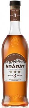 Бренди ARARAT 3 года выдержки 0.5 л 40% (4850001001904)