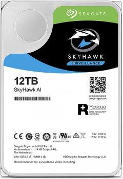 "Жорсткий диск Seagate SkyHawk Al HDD 12 TB 7200 rpm 256 MB ST12000VE001 3.5"" SATAIII"