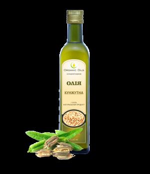 Кунжутна олія Organic Oils Холодного віджиму не рафінована 500 мл