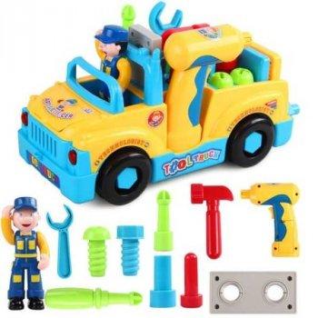Дитяча музична машинка з інструментами Limo Toy (789)