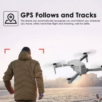 Квадрокоптер SJRC F3 с 4К і Full HD камерами, FPV, GPS, до 20 хв. польоту