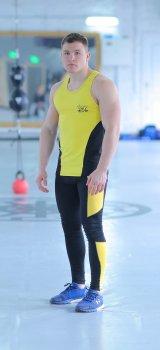 Чоловічий спортивний комплект Summer yellow 2.0 FitU Жовтий