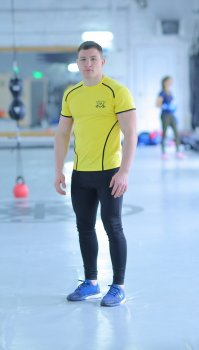 Чоловічий спортивний комплект Glory yellow 2.1 FitU Жовтий