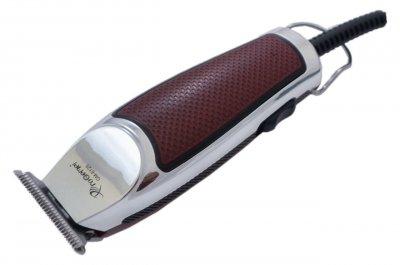 Машинка для стрижки Gemei Червона з сріблястим (GM-6088)