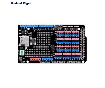 Плата розширення для підключення датчиків до Arduino Mega Robotdyn