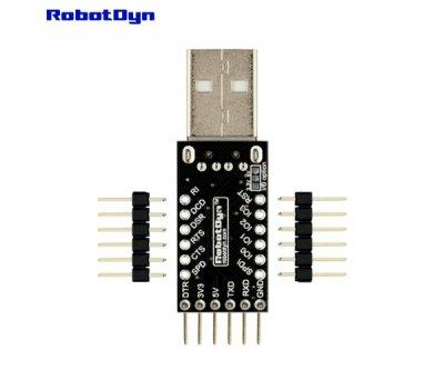 Конвертер USB UART CP2104 Robotdyn