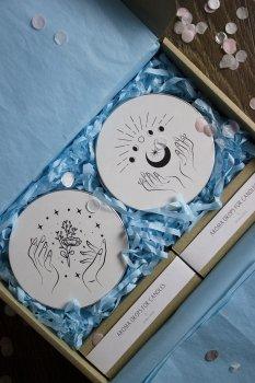 Подарочный набор для женщины, свечи ручной работы, NYCHKA STUDIO