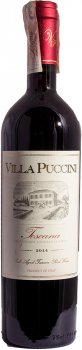 Вино Villa Puccini Toscano Rosso Elite GT сухое красное 0.75 л 12.5% (8002153008355)