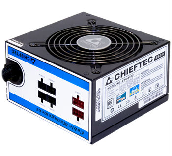 Блок Живлення Chieftec CTG-650C, ATX 2.3, APFC, 12cm fan, ККД >85%, modular, RTL