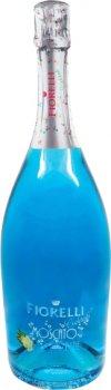 Коктейль Fiorelli Moscato Blue голубой сладкий 0.75 л 6.5% (8002915005943)
