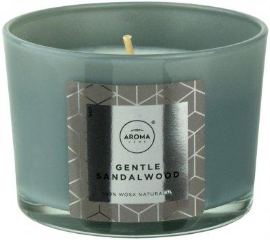 Ароматична свічка з натурального воску Aroma Home Elegance Gentle Sandalwood 115 г (5902846836643)