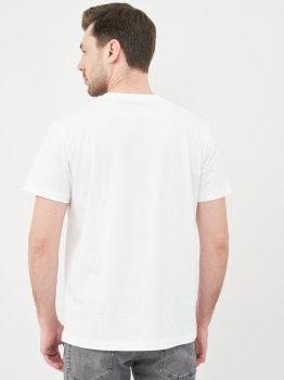 Футболка Calvin Klein Jeans Vertical Ck Panel Tee J30J317077-YAF Ck White