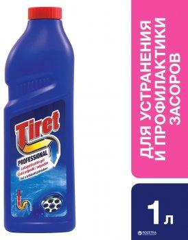 Засіб для усунення та профілактики засмічень в каналізаційних трубах Tiret Professional 1 л (5997321741062)