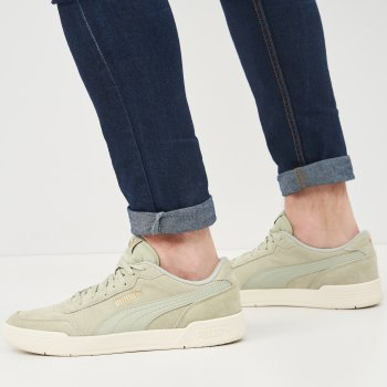 Кеды Puma Caracal SD 37030419 Desert Sage-Puma Team Gold-Whisper White