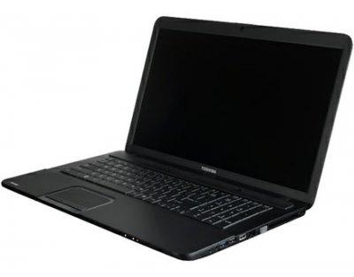 Ноутбук Toshiba Satellite C870-10L-Intel Pentium B960-2.2GHz-4Gb-DDR3-320Gb-HDD-W17.3-Web-AMD Radeon HD 7610M(1Gb)- Б/В