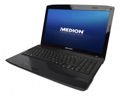 Ноутбук Medion Akoya E6622-Intel Core i3-M350-2,26Hz-4Gb-DDR3-320Gb-HDD-W15.6-DVD-RW-Web-NVIDIA GeForce GT310M(1Gb)-(B)- Б/В