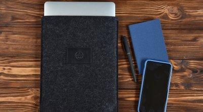 Чехол Babel's Craft Felty для MacBook Air 13 (M1, 2020-2018) черный вйолок