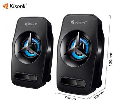 Колонки мощные Kisonli L-3030 для ПК New