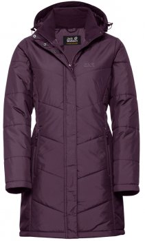 Куртка Jack Wolfskin Svalbard Coat Women 1204481-1600 Фиолетовая