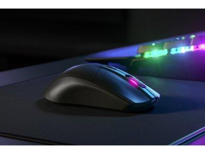 Безпровідна ігрова миша з підсвіткою SteelSeries Sensei Ten Black (62527)