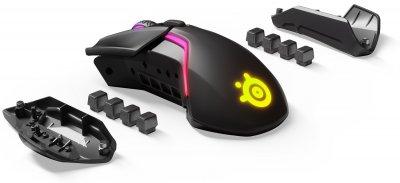 Безпровідна ігрова миша з підсвіткою SteelSeries Rival 650 Wireless (62456)