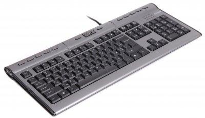 Клавіатура дротова A4Tech KL-7MUU-R Silver USB UKR (4711421757454)