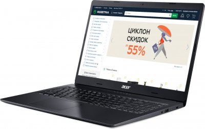 Ноутбук Acer Aspire 3 A315-57G-37RD (NX.HZREU.00D) Charcoal Black