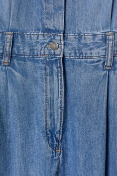 Комбинезон джинсовый H&M 18028372851 Синий