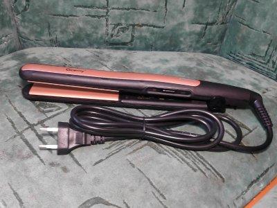Щипці утюжок для вирівнювання волосся Geemy GM-2955