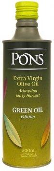 Оливкова олія Pons Green Oil EV 500 мл (8429671360992)