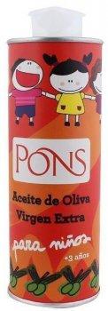 Масло оливковое Pons Kids Extra Virgin 250 мл (8429671360220)