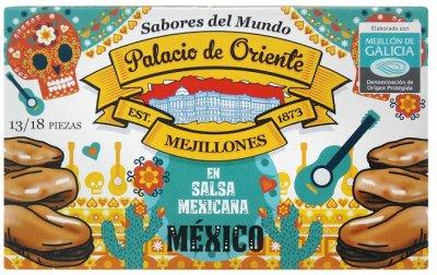 Мидии Palacio de Oriente по-мексикански 115 г (8410205064141)