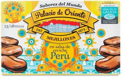 Мидии Palacio de Oriente по-перуански 115 г (8410205064127)