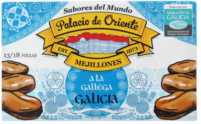 Мидии Palacio de Oriente по-галисийски 115 г (8410205065001)