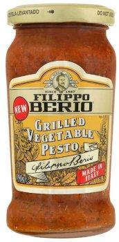 Соус Filippo Berio Песто из овощей на гриле 190 г (8002210131439)