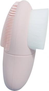 Щётка для умывания лица Mermade Brush.Me Travel Двойная Розовая (2000000239088)