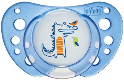 Пустышка Chicco Physio Air латексная от 6 до 16 месяцев Голубая 2 шт (75022.21.00.00)