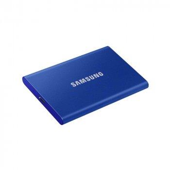 SSD накопичувач Samsung T7 Indigo Blue 2TB (MU-PC2T0H/WW)