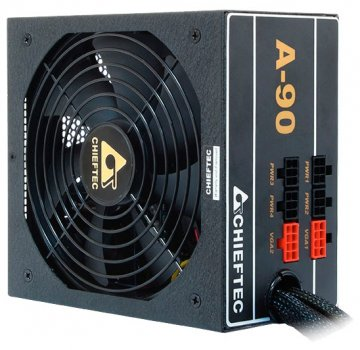 Блок живлення Chieftec GDP-750C, ATX 2.3, APFC, 14cm fan, ККД 90%, modular, RTL