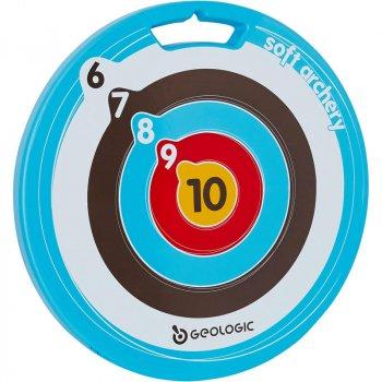 Мішень для Стрільби з Лука GEOLOGIC Пластик Синя для Стріл на Присоску