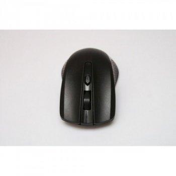 Беспроводная компьютерная оптическая мышка AVA 211 Pro. Чёрная.