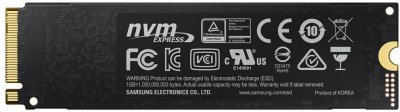 Samsung 970 Pro series 1TB M. 2 PCIe 3.0 x4 V-NAND MLC (MZ-V7P1T0BW)