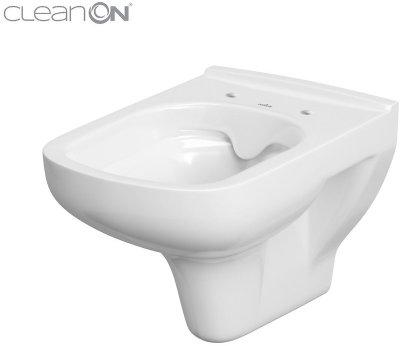 Унитаз подвесной CERSANIT Colour CleanOn K103-024 без сиденья
